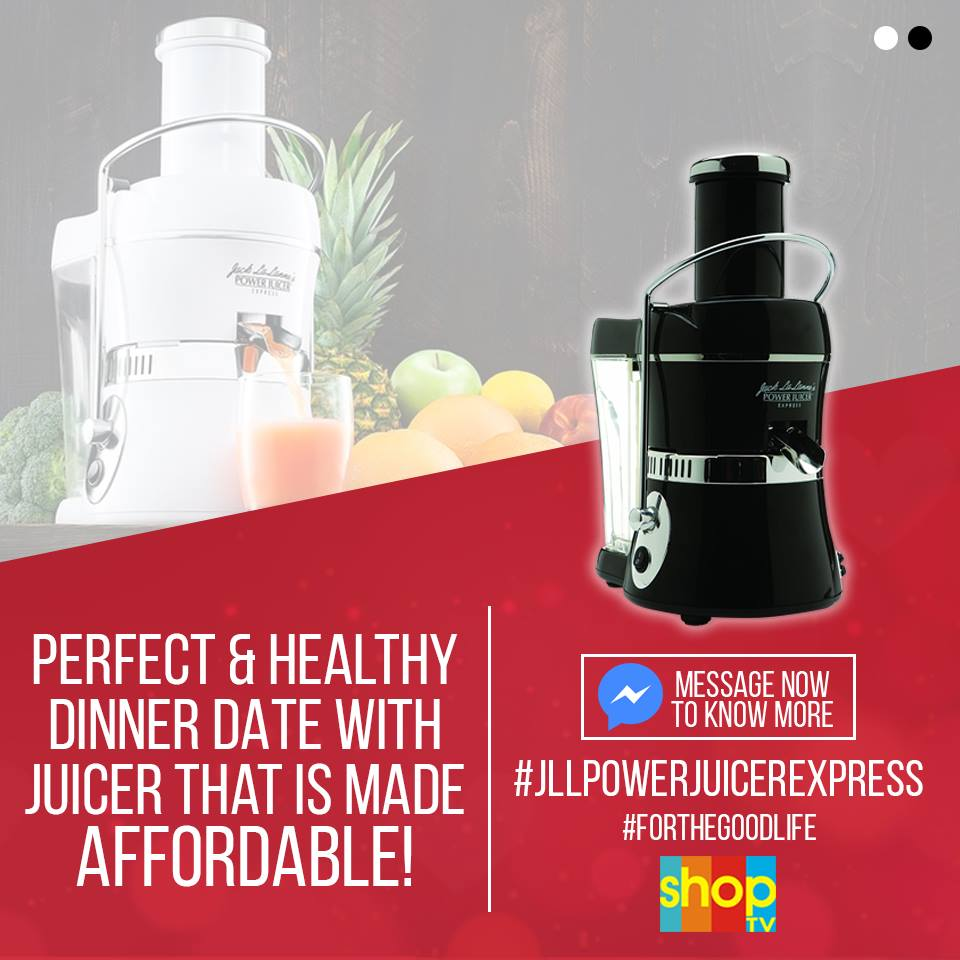Juicing made more affordable by @ShopTVPH