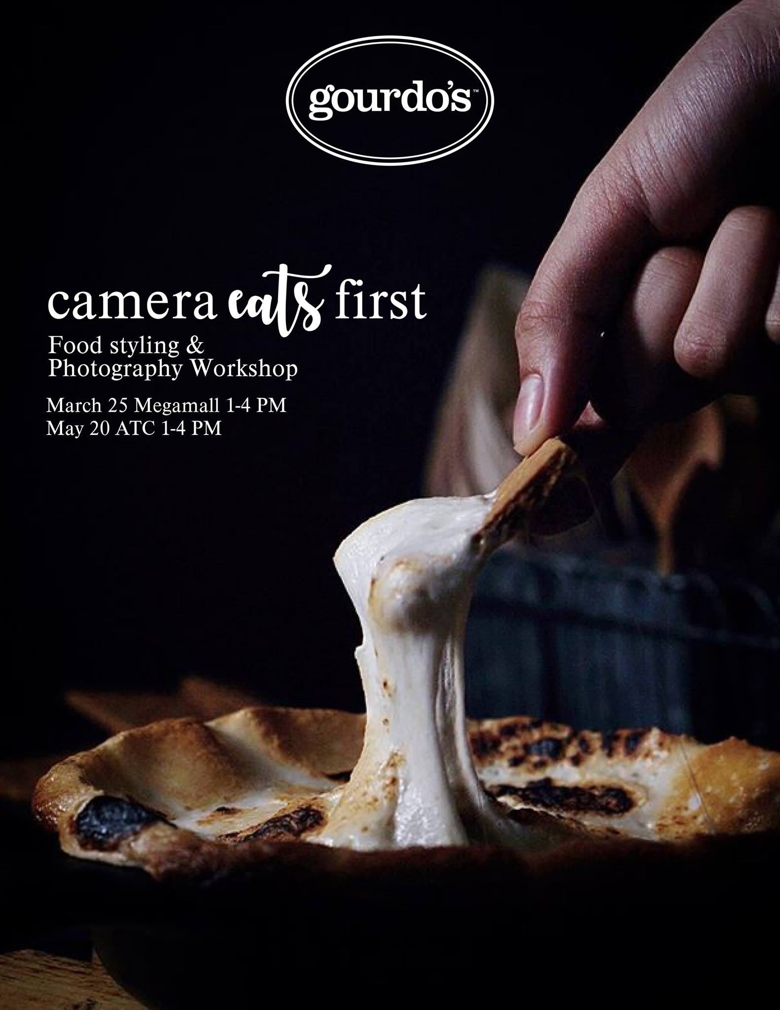 Camera Eats First, Food Styling & Photography Workshop at @Gourdos.