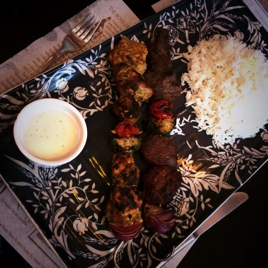 Persian Kebab with Basmati Rice