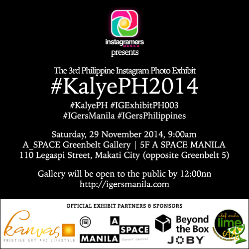 #KalyePH2014 - The 3rd Philippine Instagram Exhibit