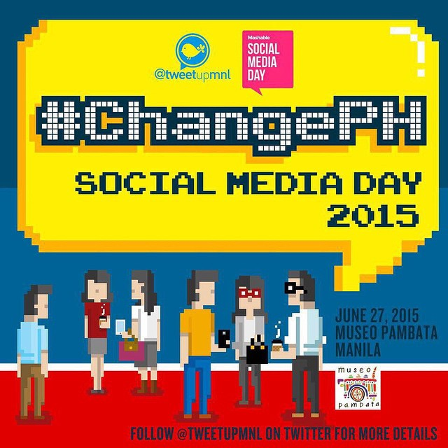 @IGersManila joins #SocialMediaDay2015