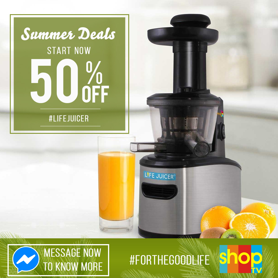 Summer Deals: Life Juicer now at 50% OFF!