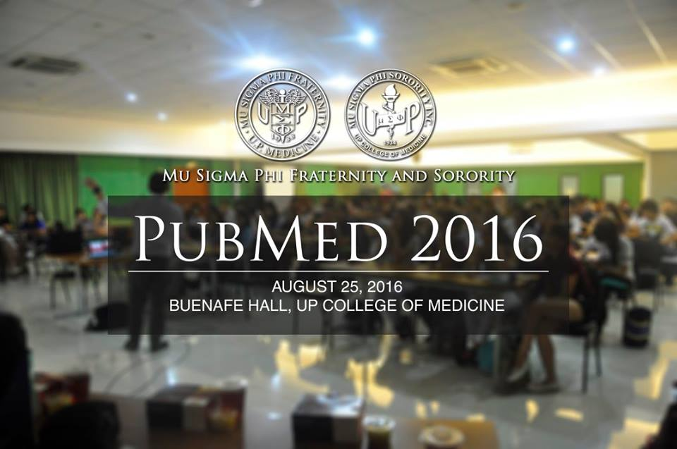 CCLozano at Mu Sigma Phi Fraternity and Sorority PubMed 2016