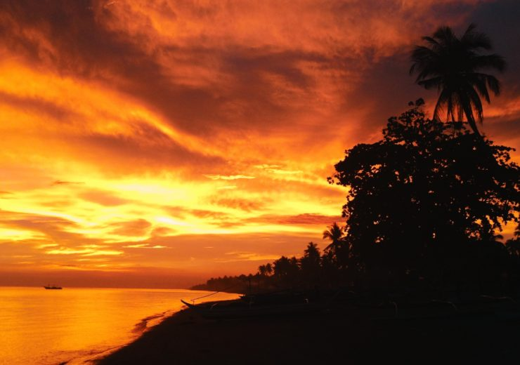 The beautiful sunset of Marinduque by CC Lozano